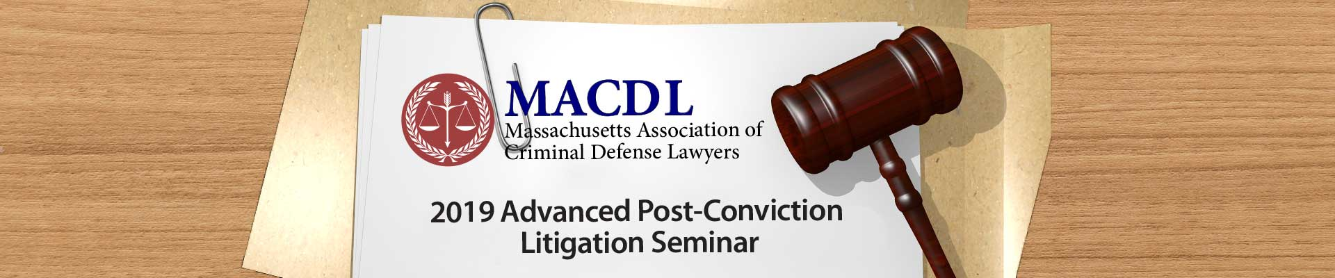 2019 Post-Conviction Litigation Seminar